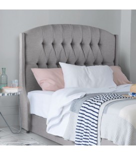 Charlotte Headboard | Everest Silver