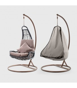 WH-PCHC-ST - Jasper Hanging Chair Cover - Stone -