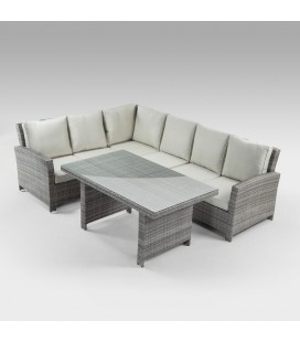 Manila Patio Set - Titanium
