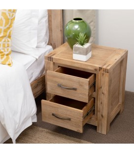 Vancouver chest of drawers 6-drawer and pedestal set -