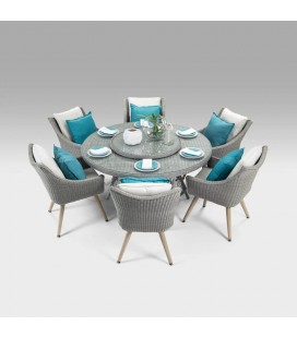 GFS7027-LSDTGFS9007-NF-CHX6 - Aspen Marseille Patio Dining Set -