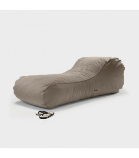 Paxton Stone Bean Bag Lounger | Bean Bag Chairs -