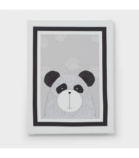 CAN-KID-001-D - Kids Wall Art - Jungle Collection Bear Canvas -