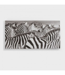 CAN-006 - Zebra Abstract Canvas Art -