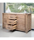 VCER2-BF160VH - Vancouver Acacia Wood Sideboard -