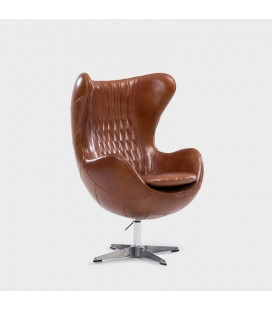 Hawker Egg Chair - Full Grain Leather