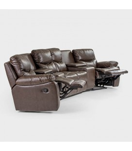 Christopher Leather Home Theatre Suite
