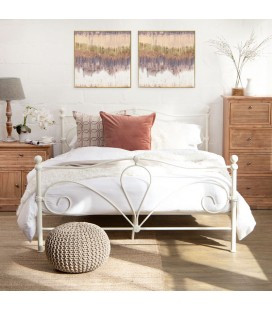 Mabel Metal Bed - Double | Beds | Bedroom | Cielo -
