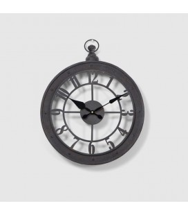 EA180101 - Nautical Iron Wall Clock -