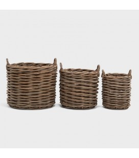 Rosanne Wicker Basket Set