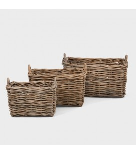 Tansen Wicker Basket Set