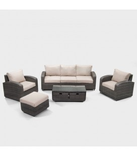 PAS-1515 - Georgia Patio Lounge Set -