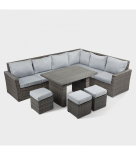 Belize Corner Patio Lounge Set | Patio Sets -