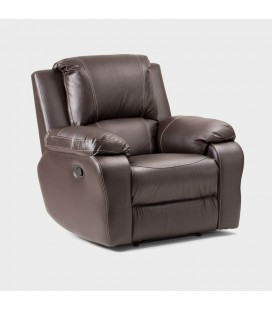 Kingsley 3-Action PU Leather Single Seater