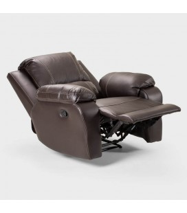 C-KIN-SPUR1-BR - Kingsley PU Leather Single Recliner -