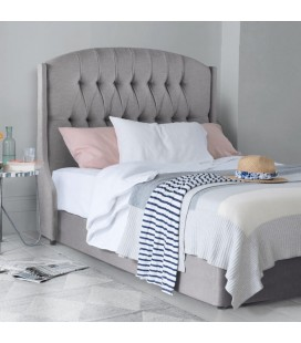 Charlotte Bed Base and Headboard