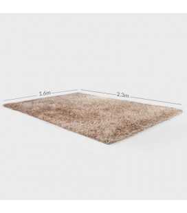 C6 - Clara Polyester Shaggy Carpet - Gold -
