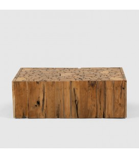 Lyra Teakroot Rectangular Coffee Table for Sale -