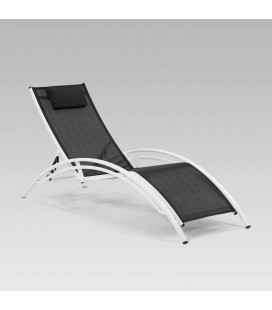 Tahiti Pool Lounger - Black