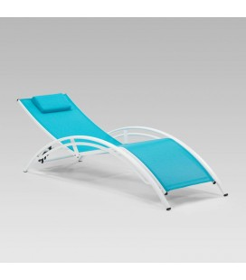 Tahiti Pool Lounger - Blue
