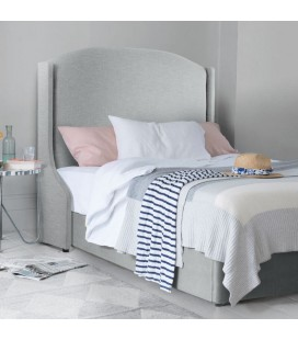 Audrey Bed Base and Headboard