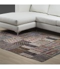 T-RAGBLOCK1 - Multicolour Patchwork Rag Rug -