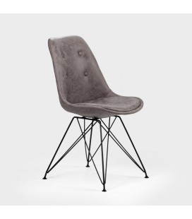 Enzo Dining Chair - Vintage Grey -