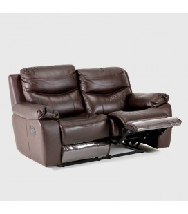 Christopher Leather Incliner - 2 Seater