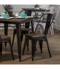 Owen Oslo Dining Set | Black Inetting