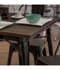 Owen Oslo Dining Set | Black insetting