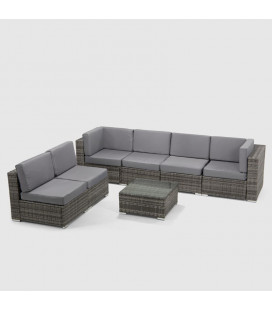 760378 - Malibu Patio Lounge Set -