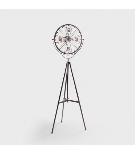 Tripod Iron Floor Clock