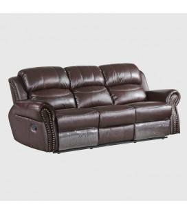 K1012-3 - Nicholas Leather Incliner - 3 Seater -