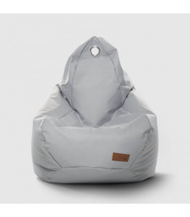 FN170723-LG - Remi Teardrop Kids Bean Bag - Light Grey -