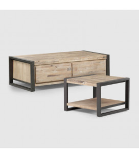 STU-CF2+STU-LT - Lexi Coffee Table + Lexi Side Table -