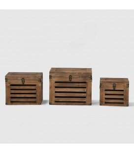 RR18R024 - Benson Storage Boxes - Set of Three -