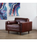 Harrison Armchair - Brown