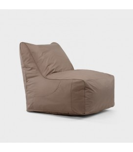 LG-80X70-ST - Miles Bean Bag Chair - Stone -