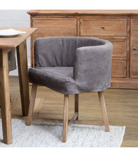 Taylor Armchair - Charcoal Grey