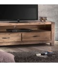 VCER2-ATV02L - Vancouver Acacia Wood TV Stand - 1.5m -