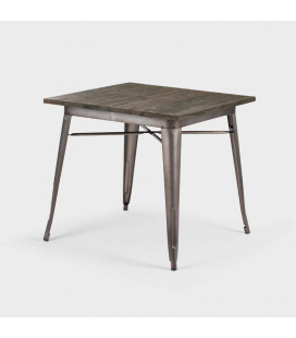 Owen Dining Table - Weathered Bronze