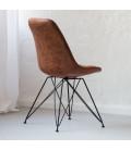 ARK-8126 - Enzo Dining Chair Vintage Brown -