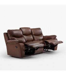 Christopher 3-2-1 Leather Recliner Lounge Set
