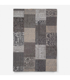 NI-JWR-P-GBK160 - Dakota Rug - M - Grey/Black -