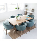 Lennon Dining Room Chair - Teal