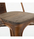 ARK-8057-COPN - Oslo Copper Metal Dining Chair -
