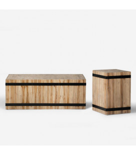 Chesney Coffee Table + Side Table