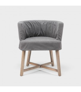 Taylor Arm Chair - Charcoal Grey