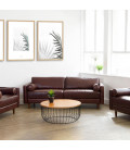 K1739-BR+K1739-1-BR(x2) - Harrison Lounge Suite - Brown -