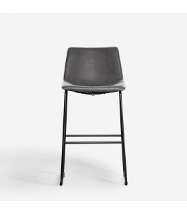 Halo Tall Bar Chair - Storm Grey